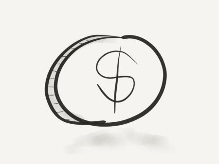 2 faces d'un jeu Coin