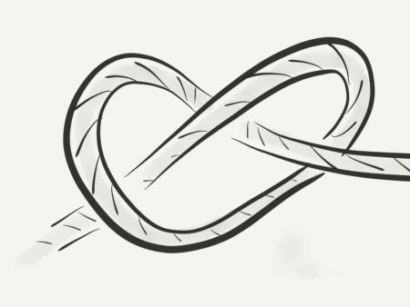 jeu de construction d'équipe de noeud humain